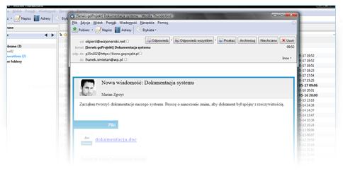 Wykorzystanie poczty E-mail